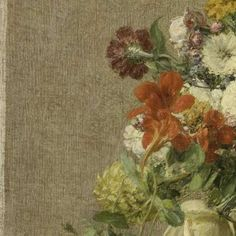 Flowers from Normandy, Henri Fantin-Latour, 1887 - Search - Rijksmuseum