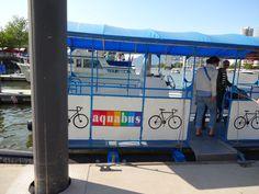 Going 2 Granville Island - Aquabus
