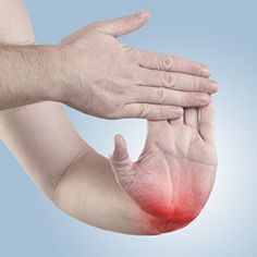 Dont forget about your wrists which can also get sore and stiff from arthritis. To exercise your wrist hold your right arm out with the palm facing down. With your left hand gently press down on the right hand until you feel a stretch in your wrist an Hand Exercises For Arthritis, Knee Arthritis, Arthritis Relief, Types Of Arthritis, Arthritis Symptoms, Juvenile Arthritis, Arthritis In Hands, Exercise For Arthritis, Stretching