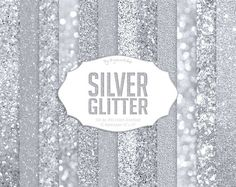 """12 #Silver #Glitter Textures #Digital Paper """"Silver Glitter"""" shining silver backgrounds, wedding gray textures  These silver glitter collection will come in handy in any creat... #etsy #digiworkshop #scrapbooking #illustration #creative #clipart #printables #cardmaking #texture #digital #background #paper #glitter #shining #silver #gray"""