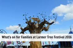 What's on for Families at Larmer Tree Festival