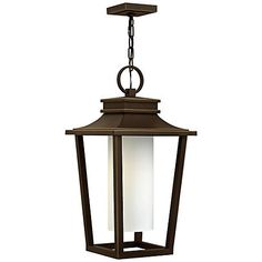 Light Up The Patio Or Entryway With This Oil Rubbed Bronze Finish Outdoor Hanging
