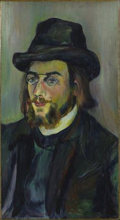 Portrait d'Erik Satie (Suzanne Valadon, 1892, Centre Georges Pompidou, Parigi)