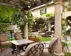 Mediterranean Landscape Tuscan Style Design, Pictures, Remodel, Decor and Ideas - page 39