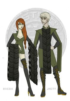 The Hunger Games - District 6 Tributes by Windnstorm on deviantART