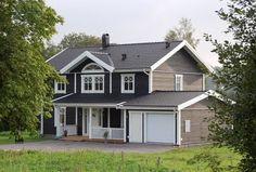 svart hus