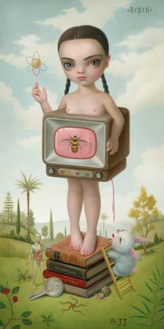 mark ryden. One of my FAVORITE ARTISTS. I plan on getting a piece of his tattooed. Decisions, Decisions