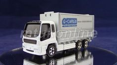 TOMICA 75 ISUZU GIGA WING ROOF TRUCK | GIGA ELF TRUCK SET 2008 | SINGLE SPLIT