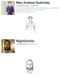 Twitter art - followers of @pulpfacts