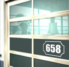 House Address Number Front Door Window Vinyl Decal 12 Styles with Border or Design Elements House Address Numbers, House Numbers, Address Signs, Front Doors With Windows, Door Stickers, Vinyl Wall Decals, Home Remodeling, Decorating Your Home, Outdoor Living
