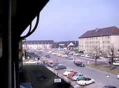 walmart mannheim germany | Sullivan Barracks main gate and Kafertal Stassenbahn Station. (Larger ...