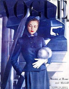 Jean Patchett Vogue Magazine Cover 1948