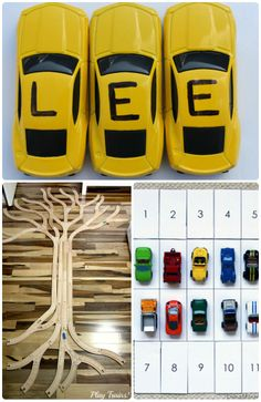 Creative ways to explore math, science & letters with toys!