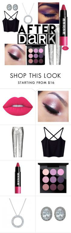 """""""AFTER DARK- Sparkle and Shine"""" by montanasilversmiths on Polyvore featuring beauty, Lime Crime, Too Faced Cosmetics, Tod's, MAC Cosmetics and afterdark"""