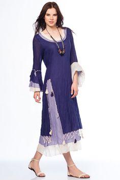 Otantik Gümbet Elbise - Mor