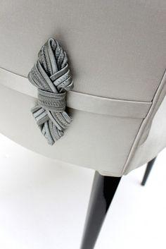 Bow Tie Stiletto Chair | Aiveen Daly