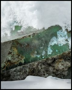 iPhoneography, 5-10-13, Green Ice by Armin Mersmann