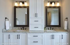 Dual vanities in the