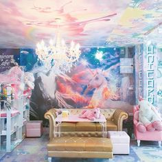 Need to book a trip to visit this Lisa Frank-inspired unicorn cafe in Bangkok, Thailand STAT.