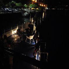 LAKE PARTY NIGHT ✌️ #emmetrend #fashionblogger #fashionmoment #party #lakeofcomo #bisbino #fashion #nightout #workhard #playhard #blogger #tremezzo #fashion #moda #lights #top #view #styleblog #stylist #igers #italy  (presso Bisbino)