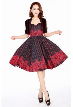 Retro Sweet-Hear Dress by Amber Middaugh 2016