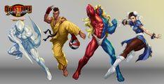 Street Fighter III OE Art 5 by Artgerm.deviantart.com on @deviantART