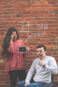 Noivo com deficiência física anuncia gravidez de forma hilária #timbeta #sdv #betaajudabeta