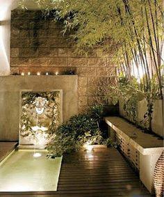 Colores para Decorar: Estanques y áreas de agua para terrazas o patios grandes