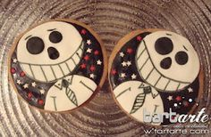 halloween cookies by tartas creativas en Madrid tartarte