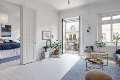 Ve švédském Göteborgu snad nedokonalé byty ani neexistují - potvrzuje to i tento za 11 a čtvrt milionu | Living | bydlení | WORN magazine