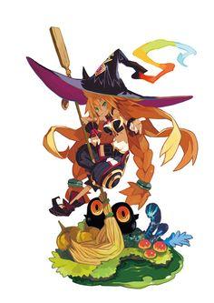 """PS4「魔女と百騎兵 Revival」が2015年9月25日に発売決定。PS3「魔女と百騎兵」にさまざまな要素が追加された本作で""""沼の魔女""""が本気を出す - 4Gamer.net"""