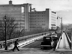 Driving Park Bridge looking East. Eastman Kodak's Hawkeye Plant. Rochester, NY