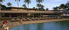 Studio MK27 | Marcio Kogan Potato Head_Bali Beach Club Hotel Studio Mk27, Resort Villa, Beach Club, Snorkeling, Hotels And Resorts, Mansions, Interior Design, Bali Beach, Architecture