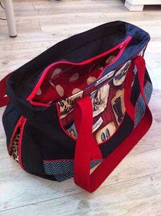 Schnabelina Bag mit Leo-Zip-in nach der grandiosen Anleitung von Rosi