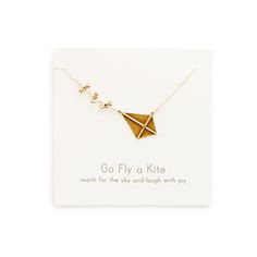 Look what I found at UncommonGoods: Fly a Kite Necklace for EUR 80.35