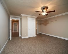 wall and carpet colors-neutral!!! More