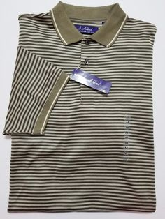 J. Ashford - Men's Polo Shirt - Size M - Green, Black & White CottonShirt with Short Sleeves  #JAshford #PoloRugby ..... Visit all of our online locations.....  www.stores.eBay.com/variety-on-a-budget .....  www.stores.ebay.com/ourfamilygeneralstore .....  www.etsy.com/shop/VarietyonaBudget .....  www.bonanza.com/booths/VarietyonaBudget .....  www.facebook.com/VarietyonaBudgetOnlineShopping