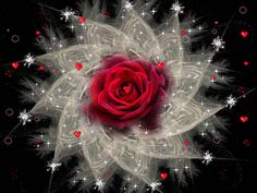 Diamond Painting Red Rose Abstract Burst Kit Offered by Bonanza Marketplace. Beautiful Gif, Beautiful Roses, Glitter Graphics, 5d Diamond Painting, Drawing Skills, Easy Paintings, Pretty Flowers, Flower Power, Red Roses
