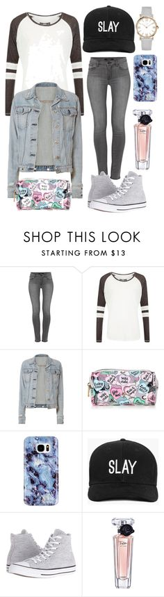 """Let's Go Out Today"" by aaliyah-mutonji ❤ liked on Polyvore featuring J Brand, Superdry, rag & bone, Samsung, Boohoo, Converse and Lancôme"
