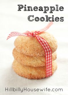 Recipes for soft pineapple cookies
