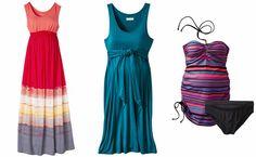 Liz Lange summer maternity fashion