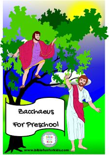 Jesus With Zacchaeus Preschool Projects