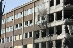 Demolition of Grace Hospital. Just grass land now Windsor Ontario, Detroit, Grass, Gothic, Southern, Memories, History, City, Photos