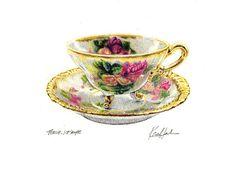 Tea Cup by Ken Hank