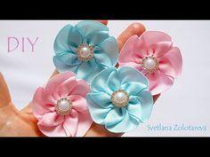 Flores Lindas simf!oyesples de la cinta de La costura DIY - YouTube