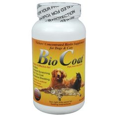 $46.95-$53.99 BioCoat is a concentrated biotin supplement in a tasty powder. Biotin is one of the essential B vitamins that works as a nutritional enzyme for the synthesis of fatty acids, important building blocks for skin and coats. It is helpful and effective for dry skin, constant scratching, dull or thin coats, and excessive shedding. BioCoat contains also primary dried yeast which differs fr ...