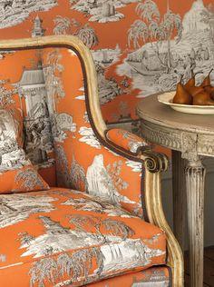Gorgeous toile  Cowtan & Tout
