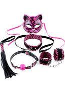 Fetish Fantasy Kinky Kitty Kit Pink Cheetah Total Erotica Shop