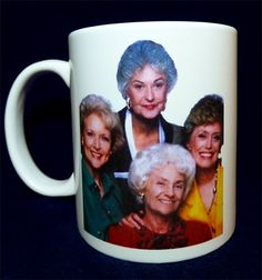 this would make me so happy every morning.  i love my golden girls.