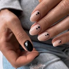 30+ Neutral Nail Inspo   neutral manicure inspiration Chic Nails, Stylish Nails, Trendy Nails, Casual Nails, May Nails, Hair And Nails, Nail Manicure, Nail Polish, Manicure Ideas